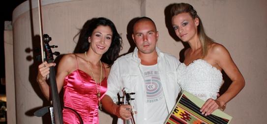 Ana Rucner,Mario Rucner i Petra Petričec