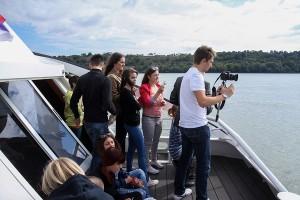 Vožnja brodom po Dunavu od Novog Sada do Iloka