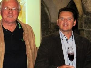 2-Drago Bulc, predsjednik FIJET Slovenija i Janez Živič, direktor Vinskih podruma Krško