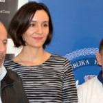 Damir Ocvirk, Maja Hrgović i Vlado Vurušić