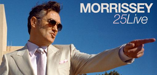 Morrissey 25 Live DVD