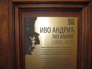 Ivo Andrić-poslaničko mjesto u skupštini