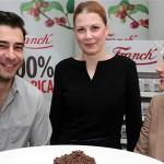 Janko Popović Volarić, Vesna Mihatov (Franck) i Marijana Batinić