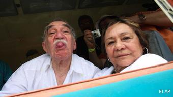 Gabriel Garcia Marquez u Kolumbiji sa suprugom