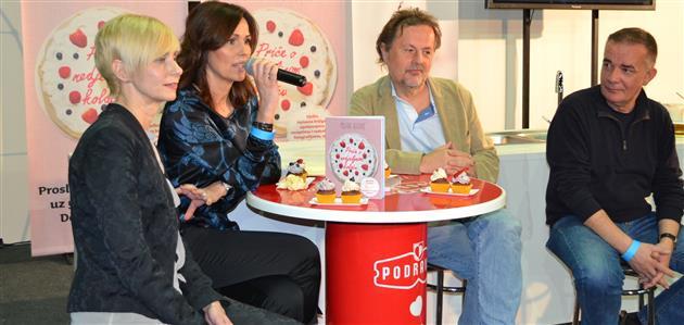 Marinka Akrap. Milana Vlaović, Rene Bakalović i Renato Baretić