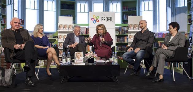 Mani Gotovac, Profil, 2014, predstavljanje knjige. Foto: Mario Topić