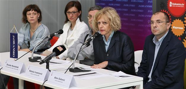 Jadranka Ivaniš Yaya, Andrea Barberić Lukić, Branko Kostelnik, Nataša Ivančević i Alen Galović