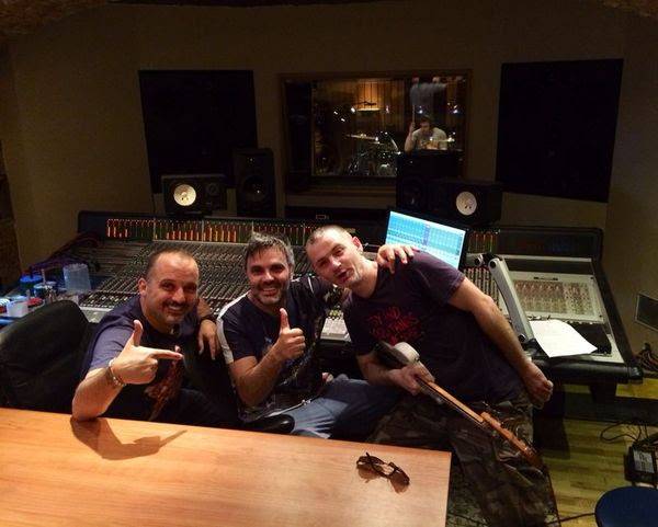 Tony Cetinski i Miro Buljan u studiju