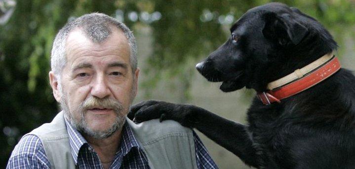 Pero Kvesić i pas