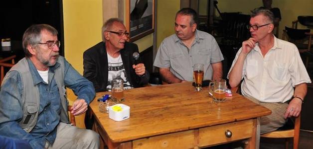 Pero Kvesić, Milan Blažeković, Stiv Cinik i Marijan Grakalić (foto Tomislav Čuveljak)