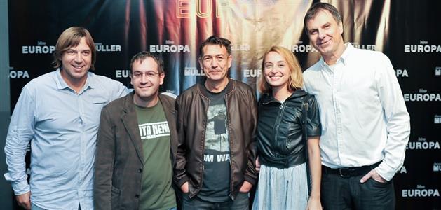 Damir Gojanović, Josip Ivančić, Radislav Jovanov Gonzo, Lana Ujdur i Boris T. Matić