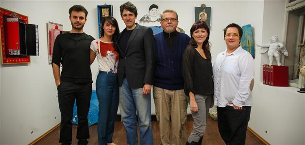 Andrej Dojkić, Nera Stipičević, Mitja Smiljanić, Željko Prstec, Hana Hegedušić i Merita Arslani