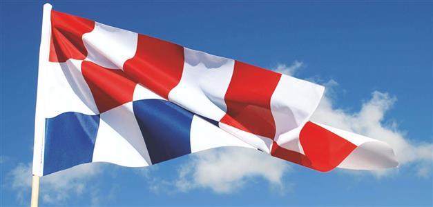Boris Ljubičić-hrvatska zastava