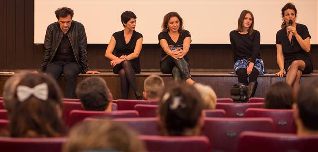 Leon Lučev, Marija Škaričić, Mirjana Karanović, Lucia Radulović i Andrea Štaka