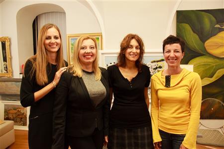 Rujana Ljubić, Romina Bengez, Vera Vujović i Maja Klarić