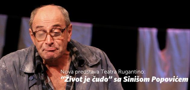 Život je čudo-Siniša Popović