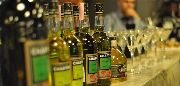 Chartreuse i Gin Roby Marton
