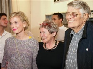 Lena Kramarić, Florien i Wouter van Wijk