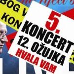 Oliver Dragojević-5. koncert u Lisinskom