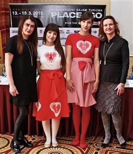 Đurđica Vorkapić, Damjana Domanovac i modeli Hippy Garden
