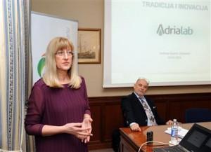 Adrialab-Vedrana Kuzmić Vrbanović i Ivo Usmiani