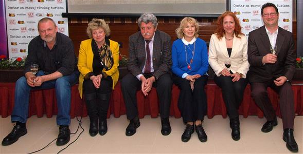 Ivo Kozarčanin, Romana Lekić, Željko Suhadolnik, Tina Čubrilo, Loreena Meda i Željko Latinović
