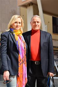 Zdenka Zrilić i Giuseppe Pino Giergia