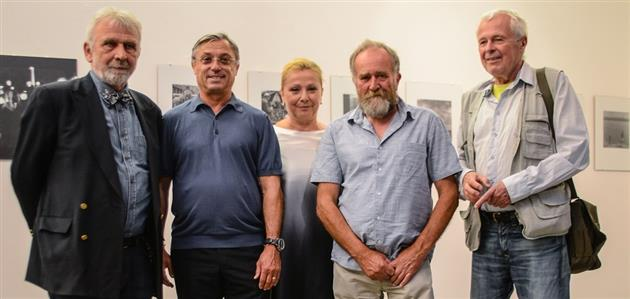 Enes Midžić, Zlatko Kranjčar, Elvira Kranjčar, Mladen Lučić i Pero Dabac