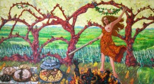 Ludberga-slikar Goran Petrač