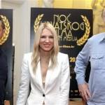 Vinko Grubišić, Irena Škorić i Veljko Bulajić