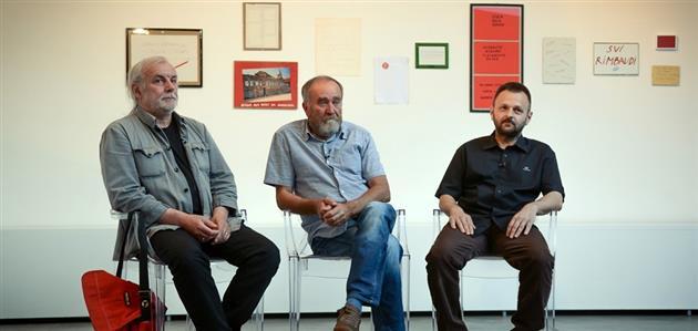 Vlado Martek, Mladen Lučić i Ivica Malčić