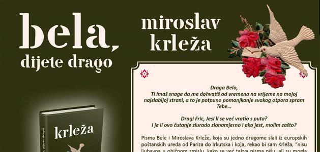 Miroslav Krleža-pisma-Bela
