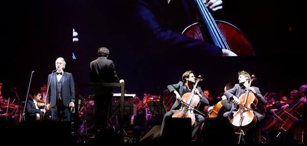 Andrea Bocelli i 2Cellos