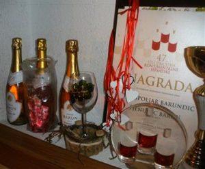 Barun rose 2013 nagrađen je kao Najbolje pjenušavo vino kontinentalne Hrvatske