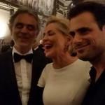 Andrea Bocelli, Sharon Stone i Stjepan Hauser