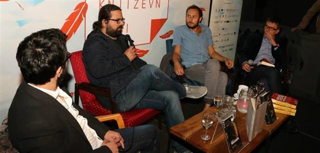 Igor Štiks, Andrej Nikolaidis, Srećko Horvat i Seid Serdarević