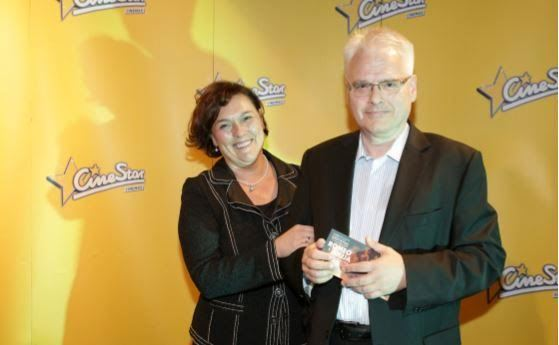 Ivo Josipović i supruga Tatjana