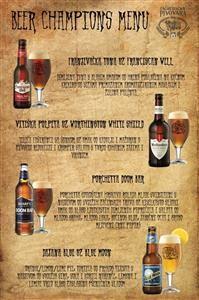 3. Beer Champions 2015-menu
