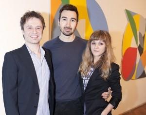 Fedor Fischer, Zlatan Vehabović i Ivana Jurić