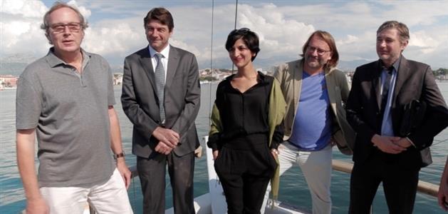 Lutz Wiedlich, Darko Lorencin, Neda Rahmanian, Hrvoje Hribar i Goran Kovačević