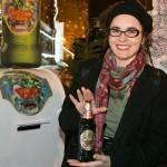 Ivona Jurić-autorica etikete Božićnog piva