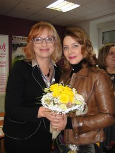 Almenka Balenović i Sanja Vejnović
