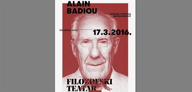 Alain Badiou-Filozofski teatar