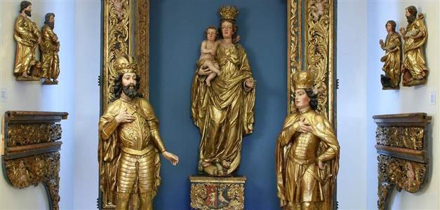 Johannes Komersteiner-dijelovi oltara, 1686-90, nekad zagrebačka katedrala