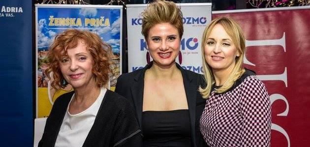 Sanja Muzaferija, Marijana Perinić i Mirjana Mikulec