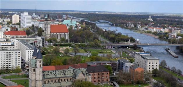 Magdeburg-pogled s katedrala