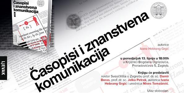 Ivana Hebrang Grgić-Časopisi i znanstvena komunikacija
