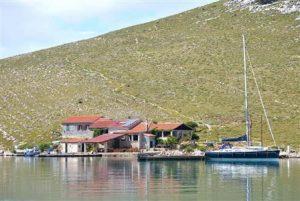 Kornati-otok Opat i restoran
