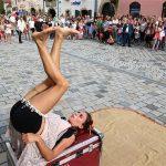 Špancirfest-žonglerka
