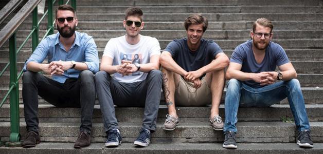 Jakov Kolega, Mate Damić, Karlo Vulin i Rene Marincel